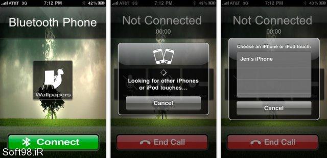 نرم افزار مکالمه از طریق بلوتوث Bluetooth Phone