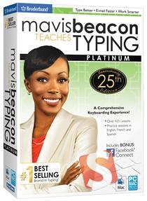 Mavis Beacon Teaches Typing Platinum - 25th Anniversary Edition