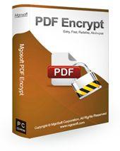 Mgosoft PDF Encrypt