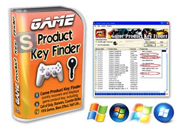 Nsasoft Game Product Key Finder