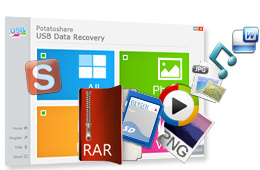 Potatoshare USB Data Recovery