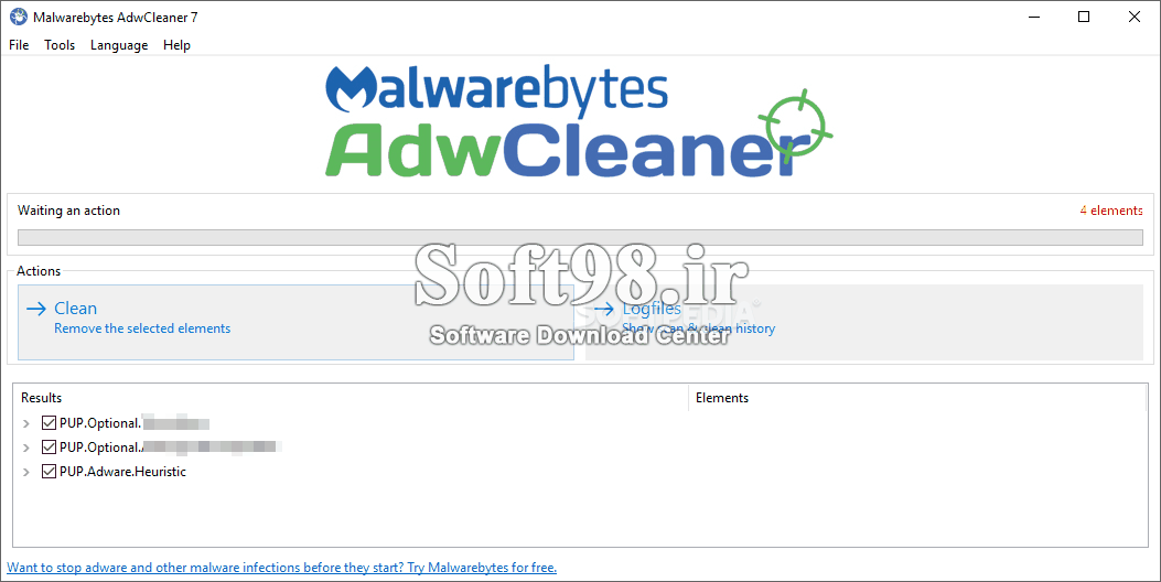 AdwCleaner 8.0.6 Remove Annoying Ads In Windows