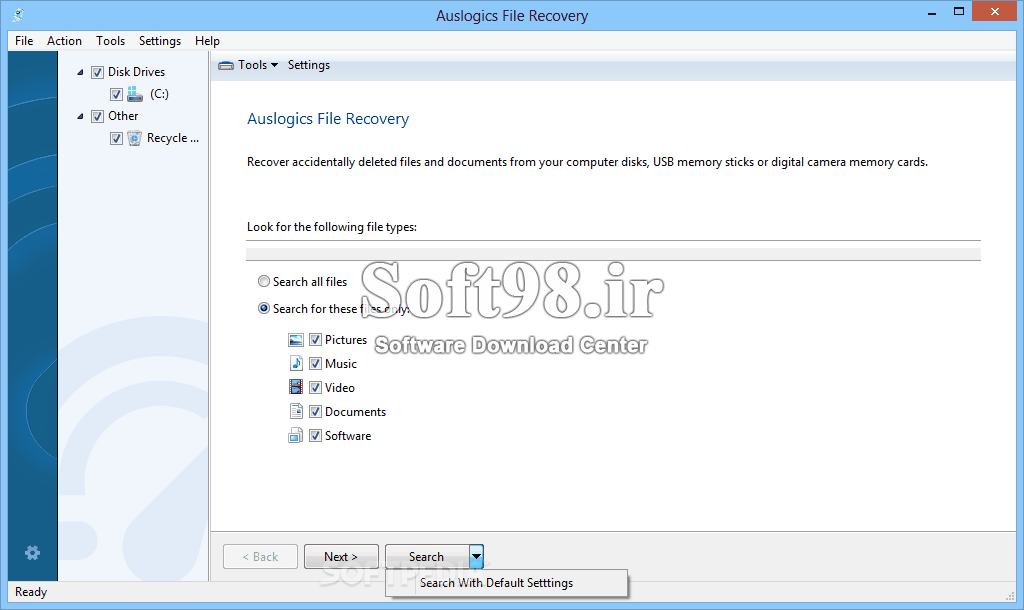 Auslogics File Recovery Pro 9.5.0.1 + Portable Data Recovery