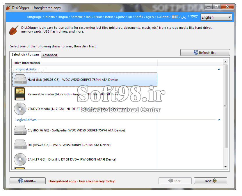 DiskDigger Pro 1 20 9 2707 Portable Data Recovery Paid A2Z