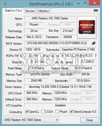 GPU-Z 2.18.0+ ASUS ROG Skin + Portable Displays Graphics Card Information