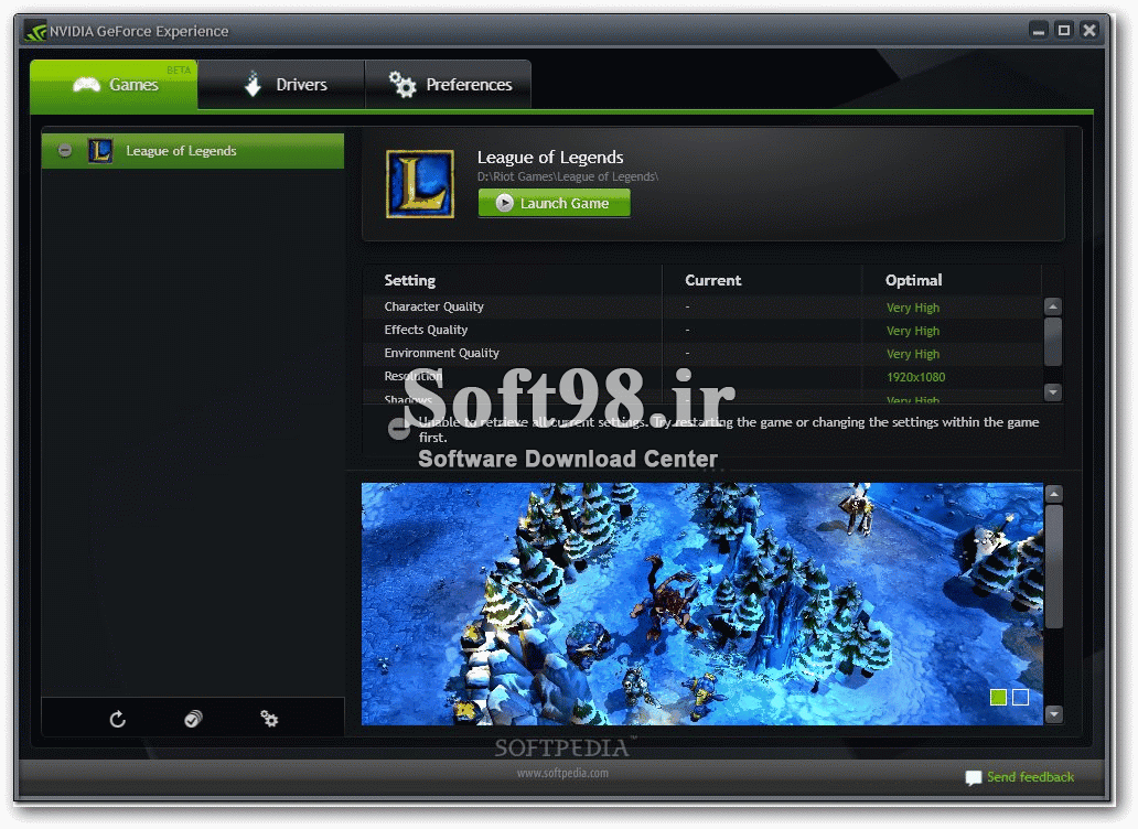 NVIDIA GeForce Experience 3.20.4.14 Optimizing The Graphics Card For Gaming