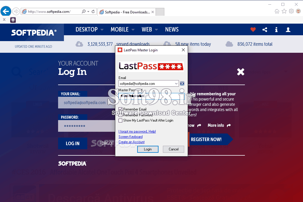 LastPass Password Manager 4.32 Password Management