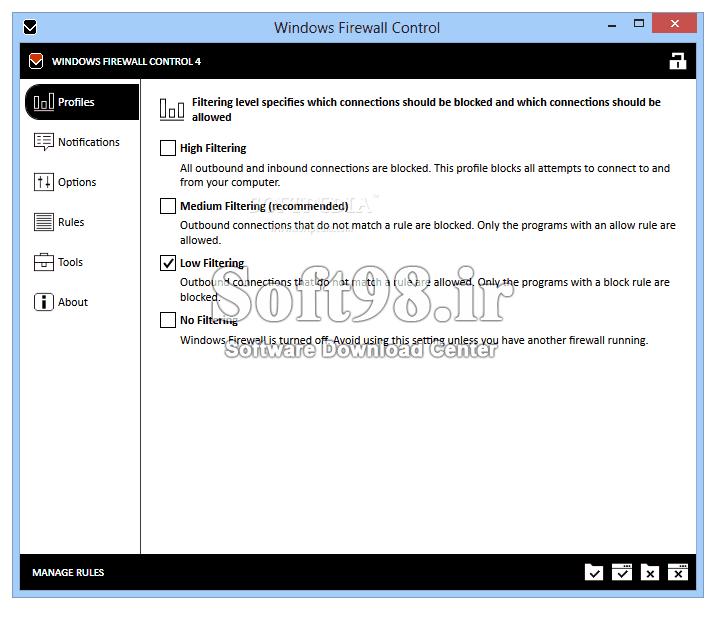 Windows Firewall Control 6.2.0.0 Easy Windows Firewall Management