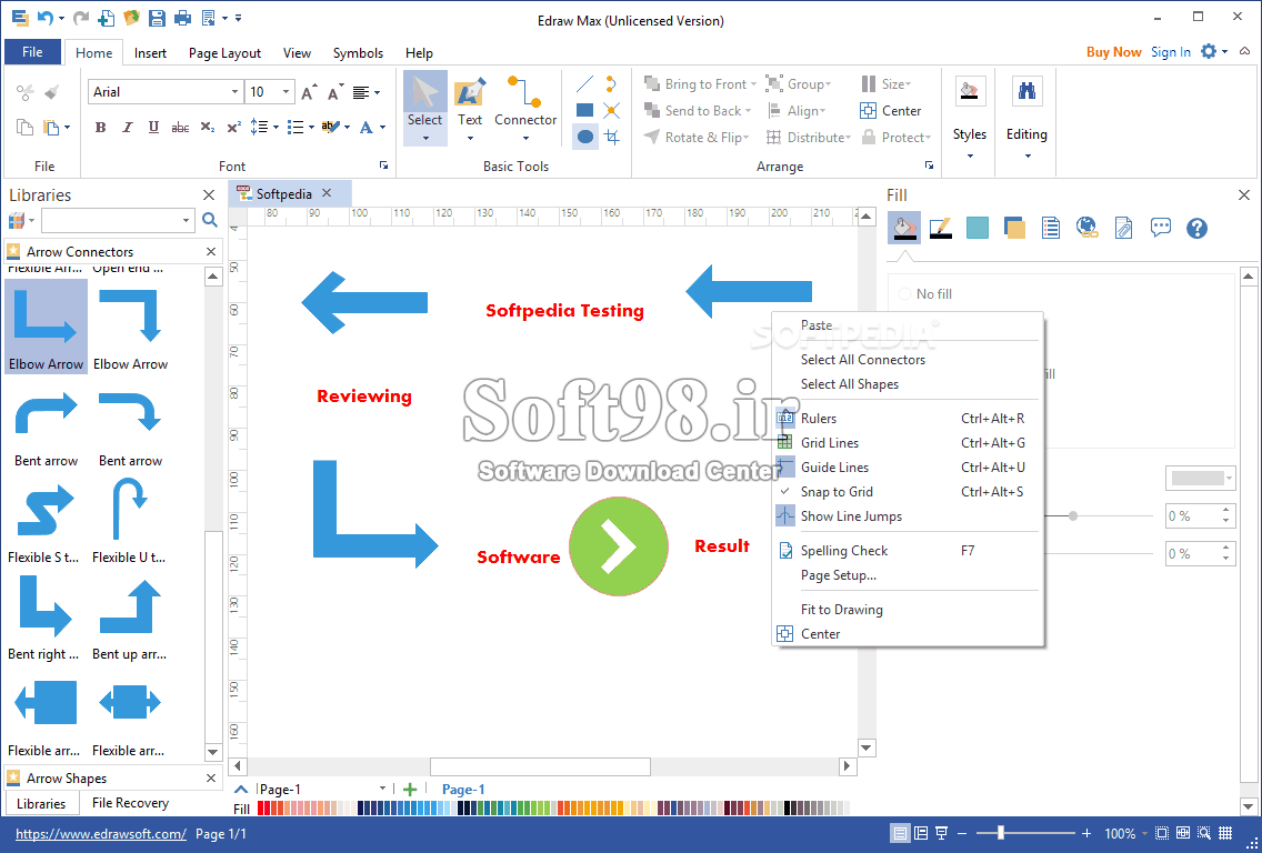 Edraw Max 10.0.4 + Portable Create Flowcharts, Charts And Network Diagrams