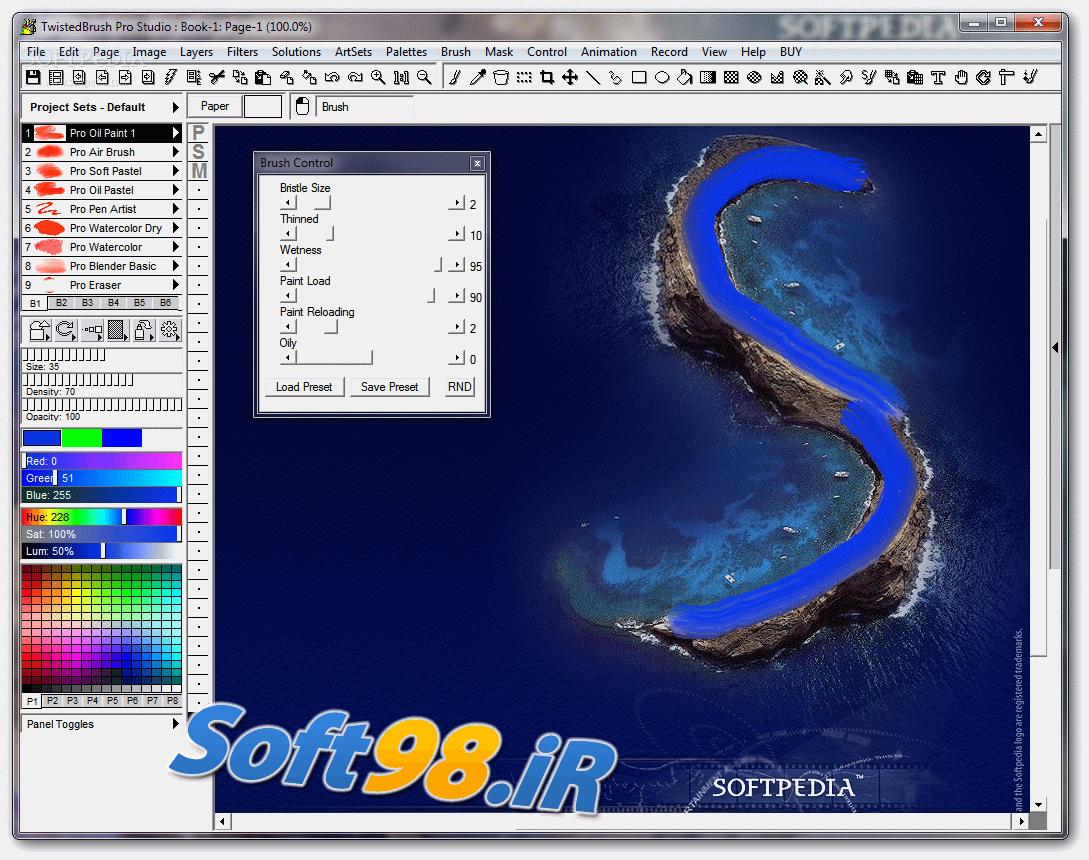 TwistedBrush Pro Studio 24.06 + Portable Digital Image Editing And Editing