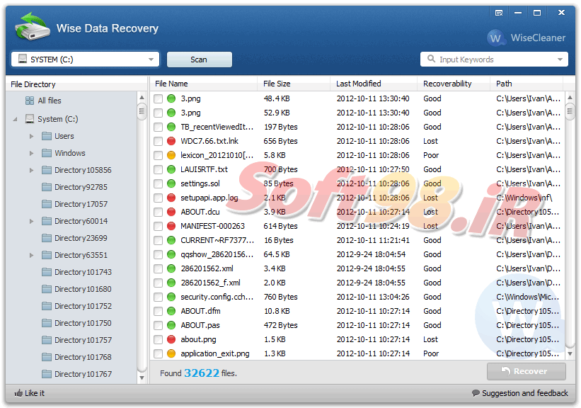 Wise Data Recovery 4.1.4.218 + Portable Deleted Data Recovery
